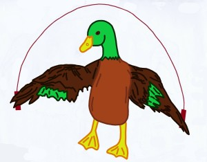 Multiplication Duck jumping rope